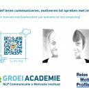 Oplossingsgerichte communicatie opleidingen bij de Groeiacademie